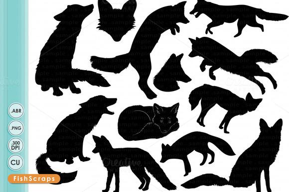 Fox Silhouettes