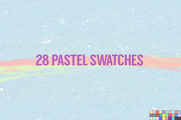 28 Pastel Swatches