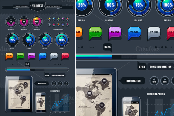 Infographics Elements #2