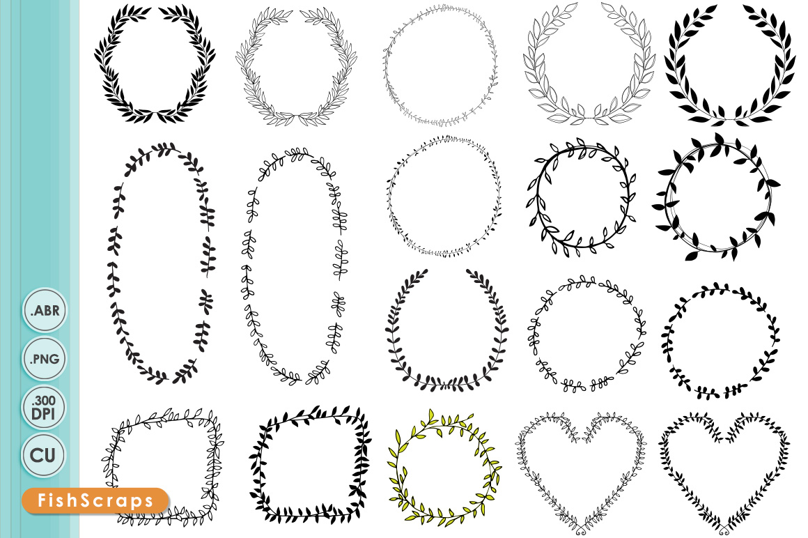 Round things clipart