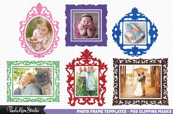 Baroque Photoshop Frames