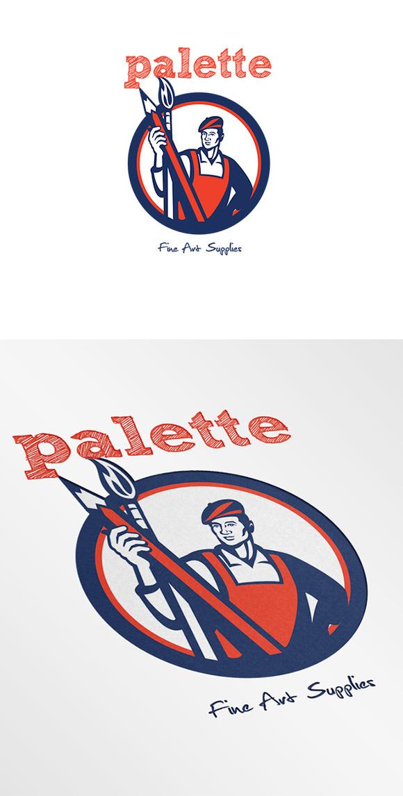 Palette Fine Art Supplies Logo