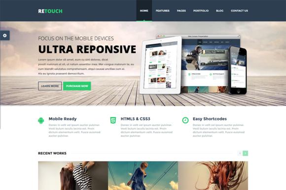 ReTouch Multi-Purpose WP Theme