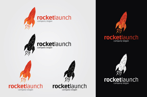 Rocket Launch Logo