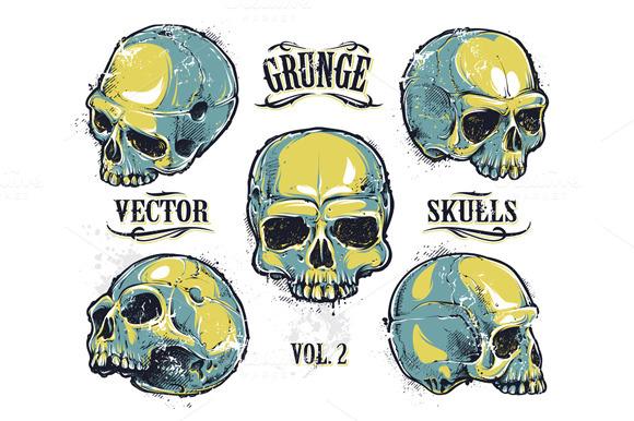 Skulls Vector Set #2