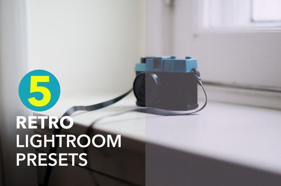 5 Retro Lightroom 4 Presets