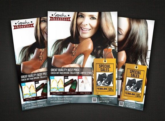 Shoe Store Flyer