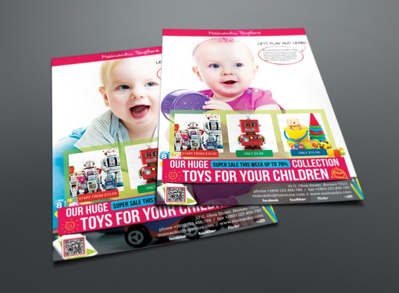 Toy Store Flyer