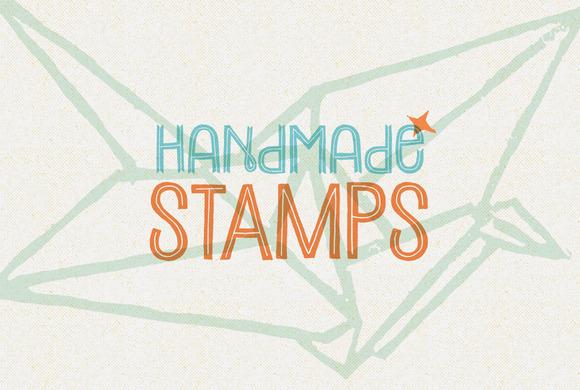 Handmade Stamps Vectors