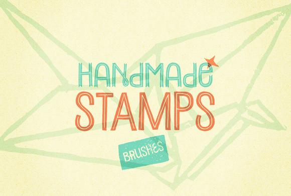48 Handmade Stamp Brushes