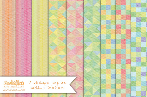 Vintage Paper Linen Texture