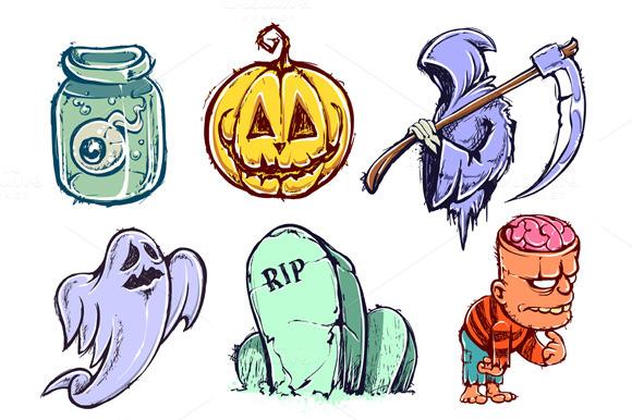 9 Halloween Characters