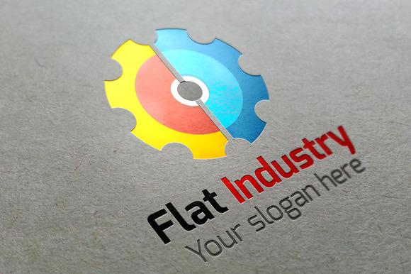 Flat Industry Logo