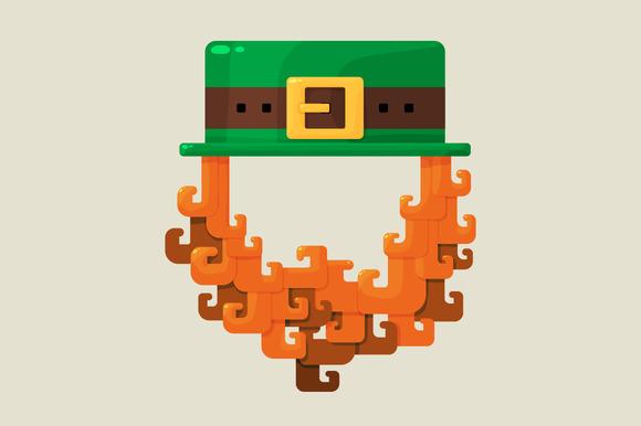 Irish St Patricks Day Leprechaun Ic