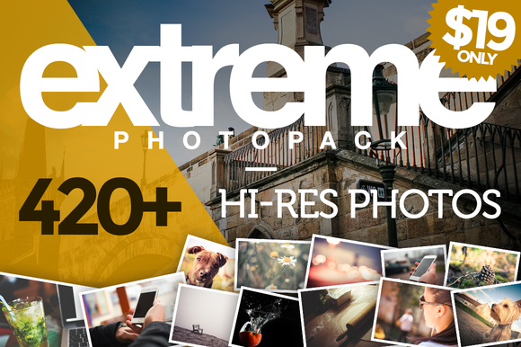 EXTREME PhotoPack 420 HiRes Photos