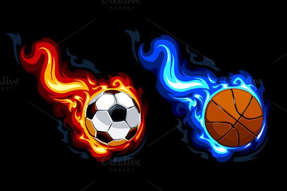 2 Burning Balls