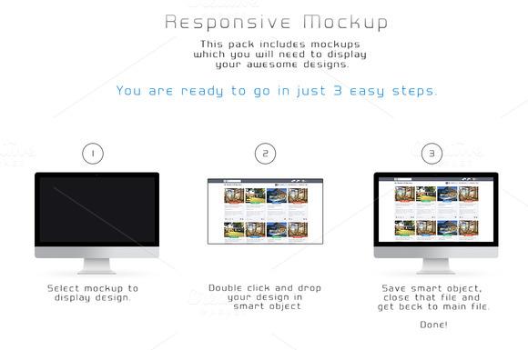 Responsive Mockup Pack