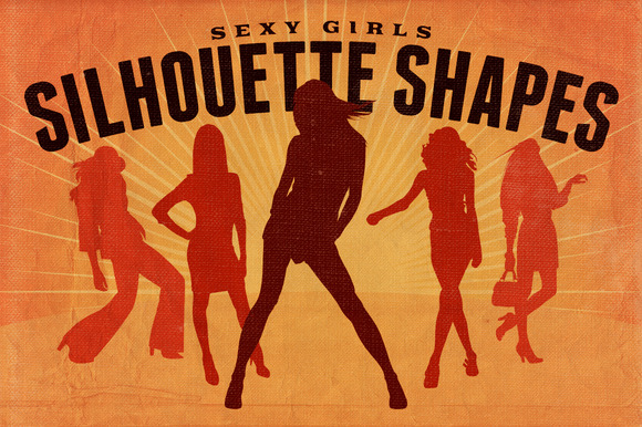 Silhouette Shapes Sexy Girls