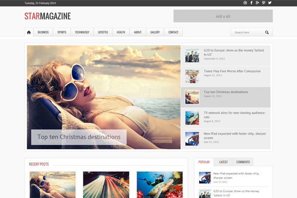 Starmag Magazine WordPress Theme