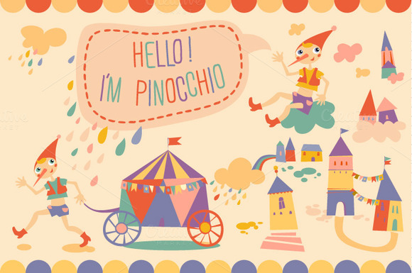 Pinocchio In The City 1