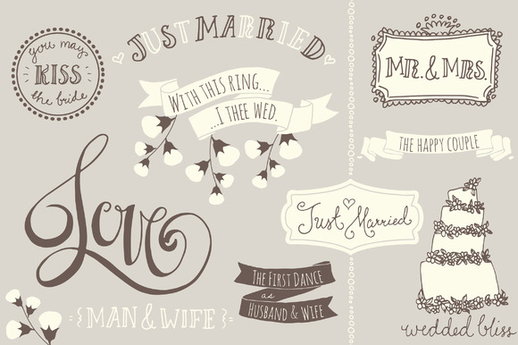 Wedding Overlays Photoshop PSD