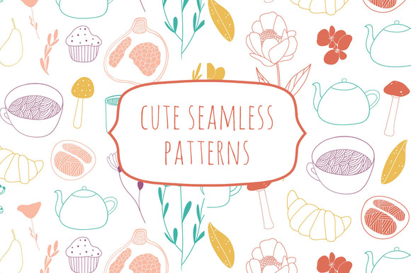 Cute Seamless Patterns