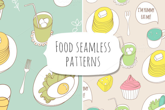 Food Seamless Patterns