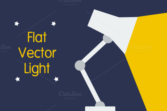 Flat Vector Light Graphic