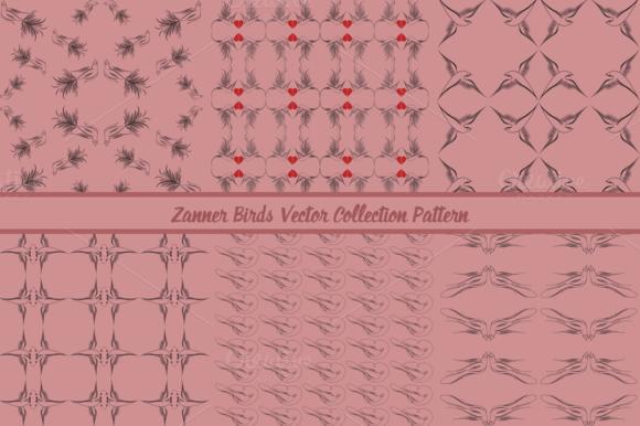 Zanner Birds Collection Pattern
