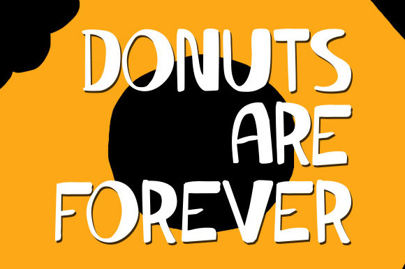 Donuts Are Forever Font