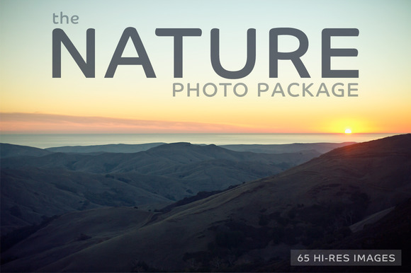 The NATURE Photo Package-65 Images