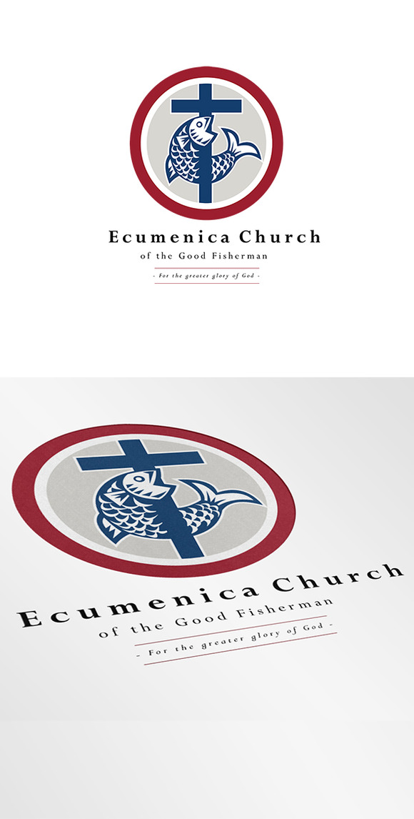 Ecumenica Church Good Fisherman Logo