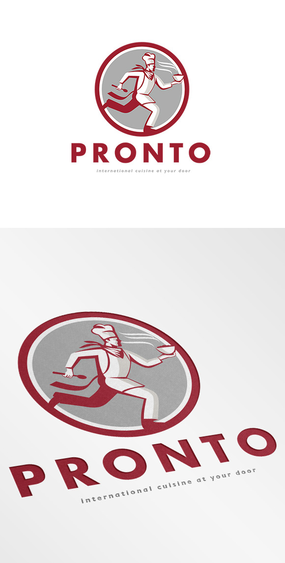 Pronto International Cuisine Logo