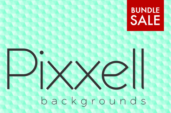 Pixxell Backgrounds Bundle