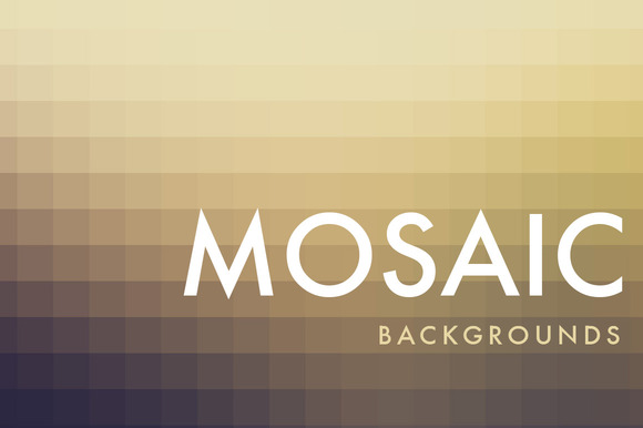 MOSAIC Backgrounds