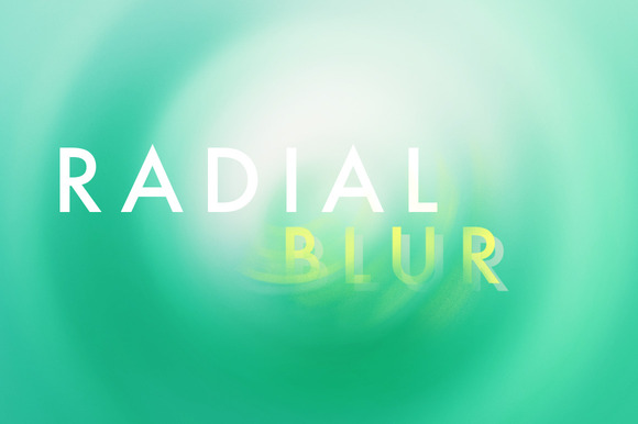 5 Radial Blurred Backgrounds