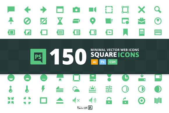 Square 150 Web-icons