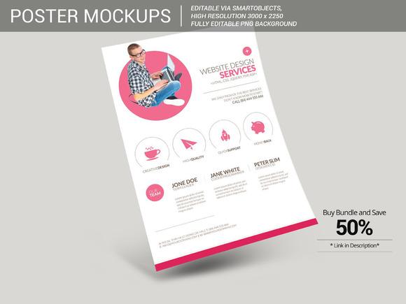Poster Flyer Mockup 3