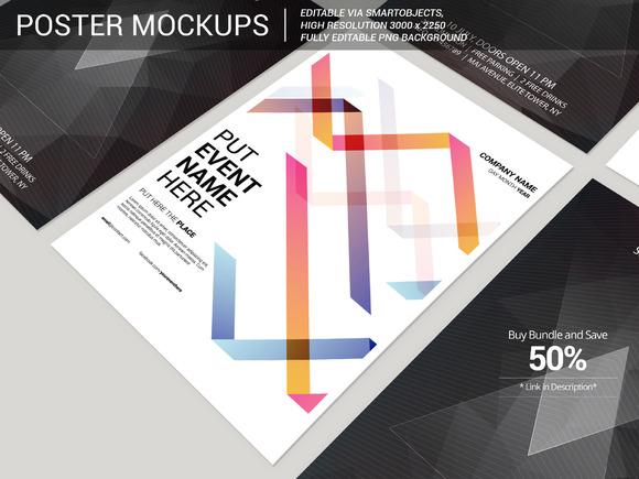 Poster Flyer Mockup 4