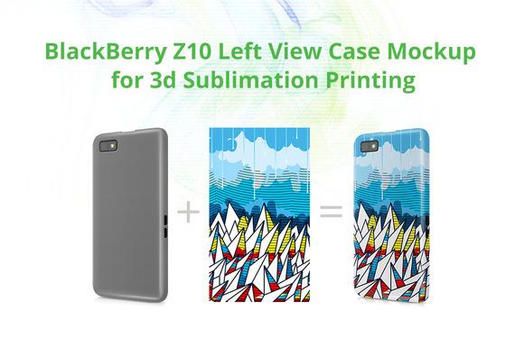 BB Z10 3D Case Design Mock-up
