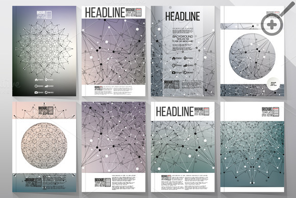 Scientific Templates For Brochures