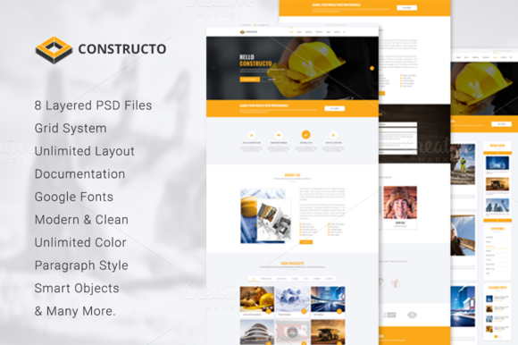 Constructo Material Design Agency