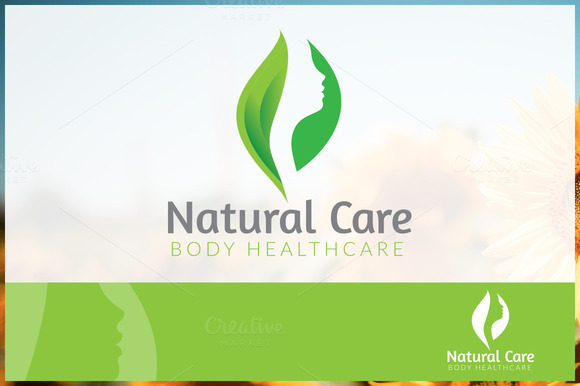 Natural Care Logo Template