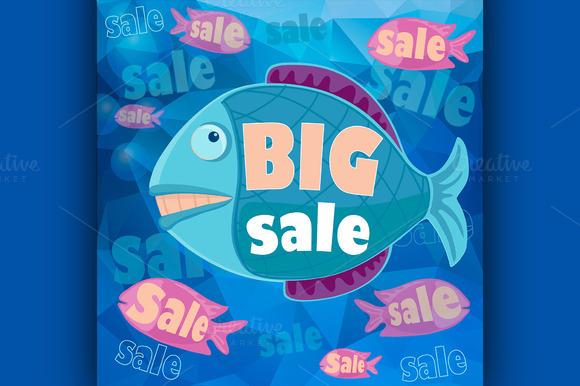 Big Sale Retro Poster