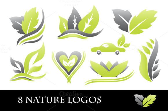 8 Nature Logos
