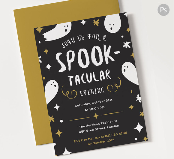 Spooktacular Halloween Party Invite