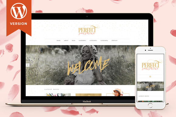 Perfect Sunshine Wordpress Theme