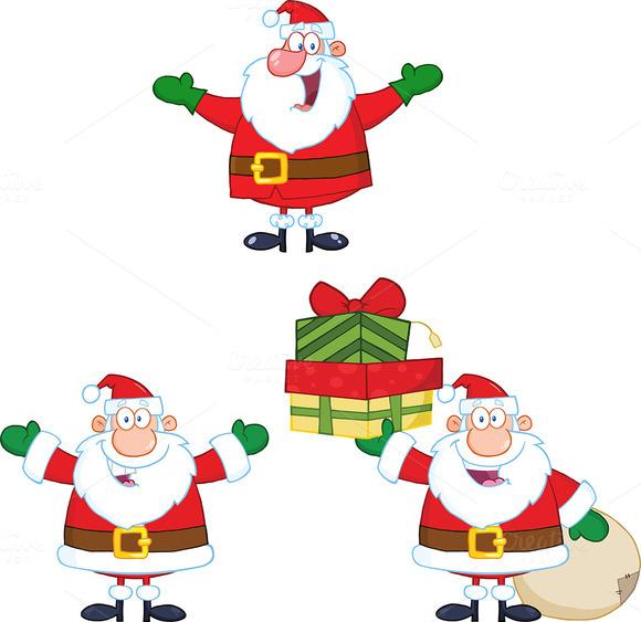 Santa Claus Character Collection 4