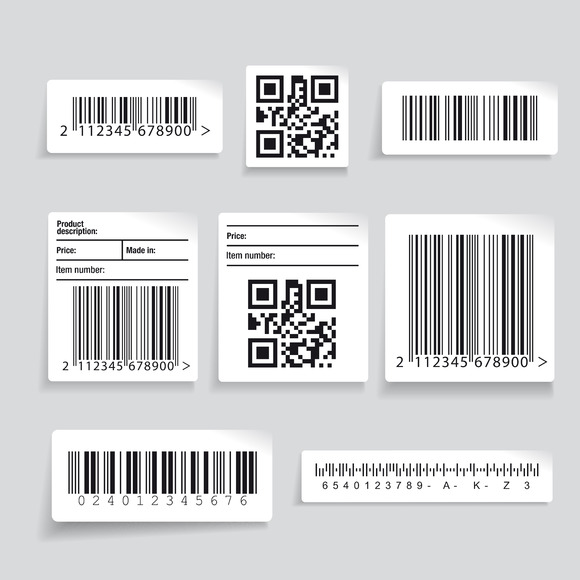 Barcode Label Set