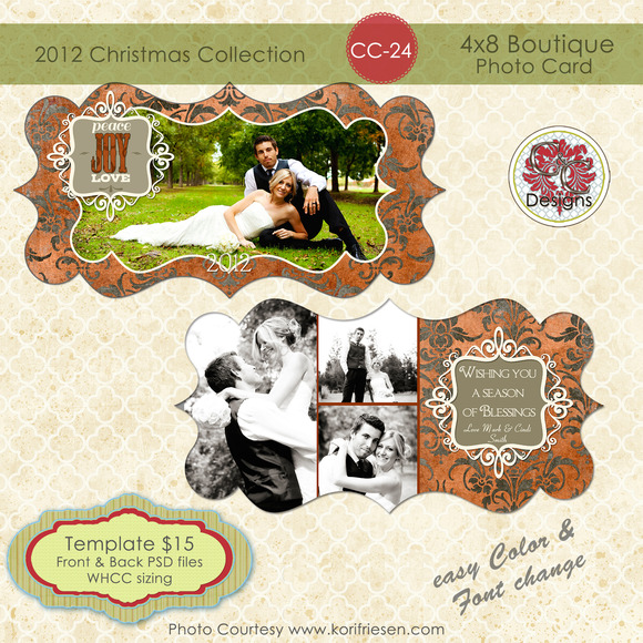 Christmas Photo Card CC-24